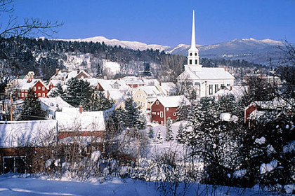 A Weekend in Stowe, Vermont: Skiing!