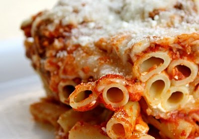 The Best Healthy Baked Ziti!