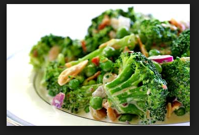 The Best Healthy Cold Broccoli Salad!