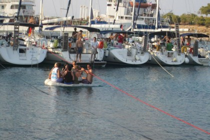 Yacht Week Greece: Getting There