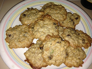 World's Best Oatmeal Trail Mix Cookies