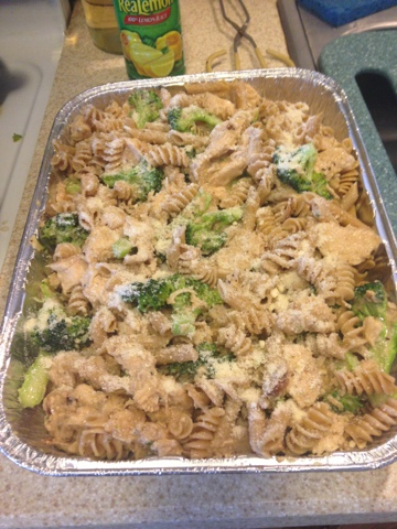 Healthy Chicken Broccoli Ziti with White Wine