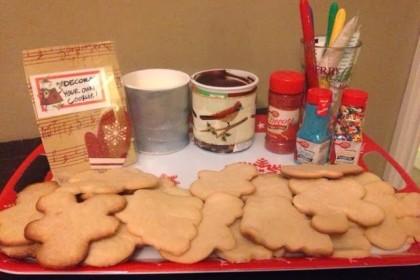 DIY Cookie Decorating Bar!