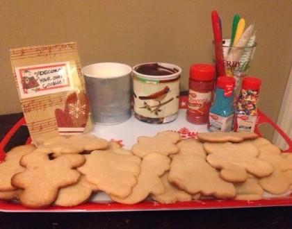 DIY Cookie Decorating Bar!