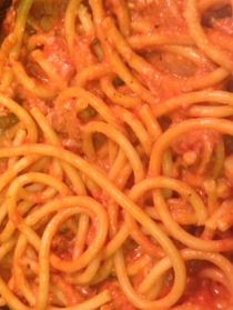 BEST Recipe for Buccatini Amatriciana