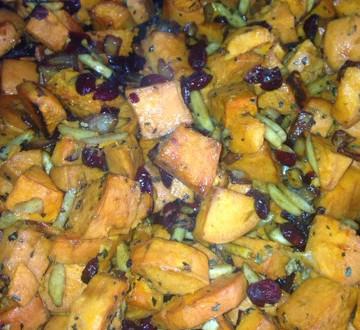 Healthy Sweet Potato Crunch Casserole