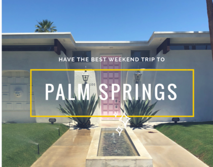things to do Palm Springs