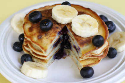 Banana and Egg white Pancakes!