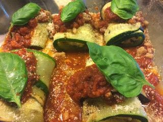 Recipe for Eggplant and Zucchini Rollatinis