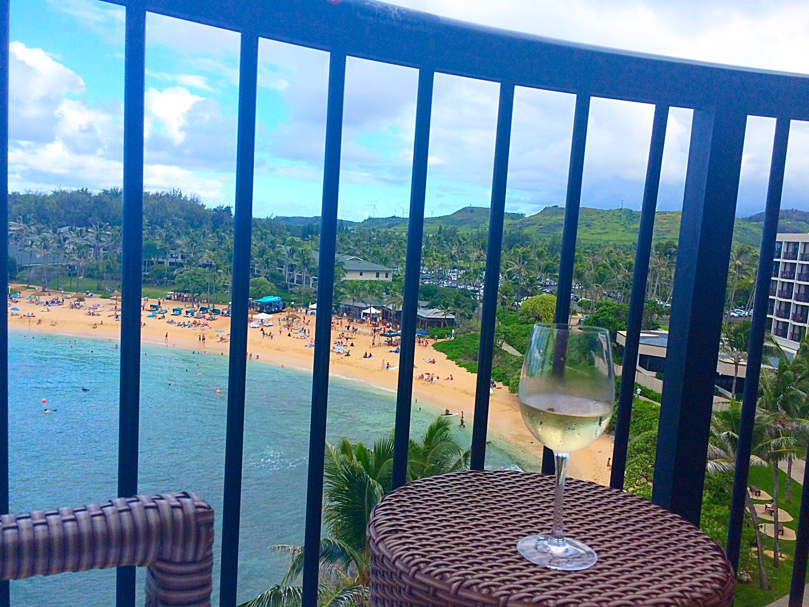 Balcony View from Turtle Bay