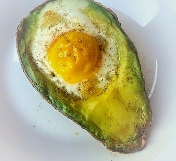 Avocado Egg Bake!