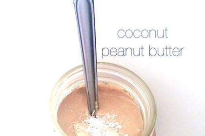 Coconut Peanut Butter Recipe