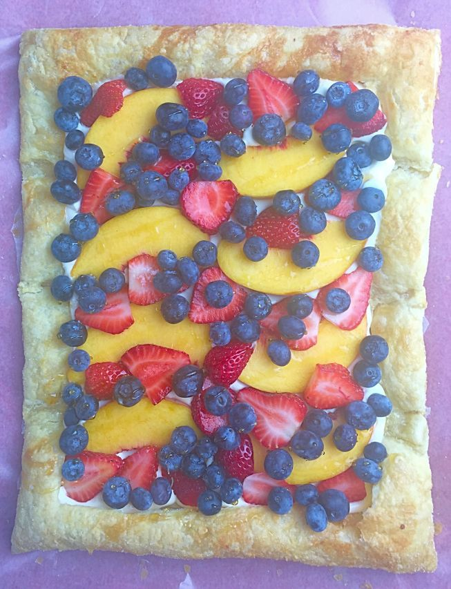 Quick & Easy Summer BBQ Dessert: Fresh Fruit Tart