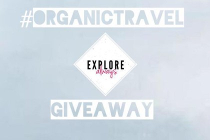 #ORGANICTRAVEL Spring Giveaway!