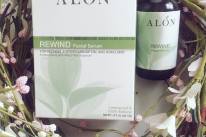 alon facial serum