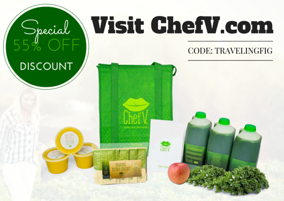 ChefV promo code, organic detox weight loss cleanse