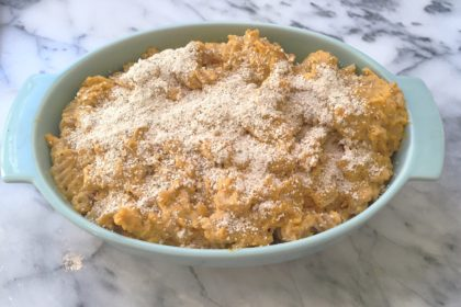 Mac & Sweet Potato Cashew Cheese! (Vegan & Gluten Free)