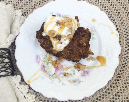 Honey, Greek Yogurt & Apple Bundt Cake (or muffins)! {Gluten Free! Healthy!}