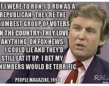 Donald Trump wins election