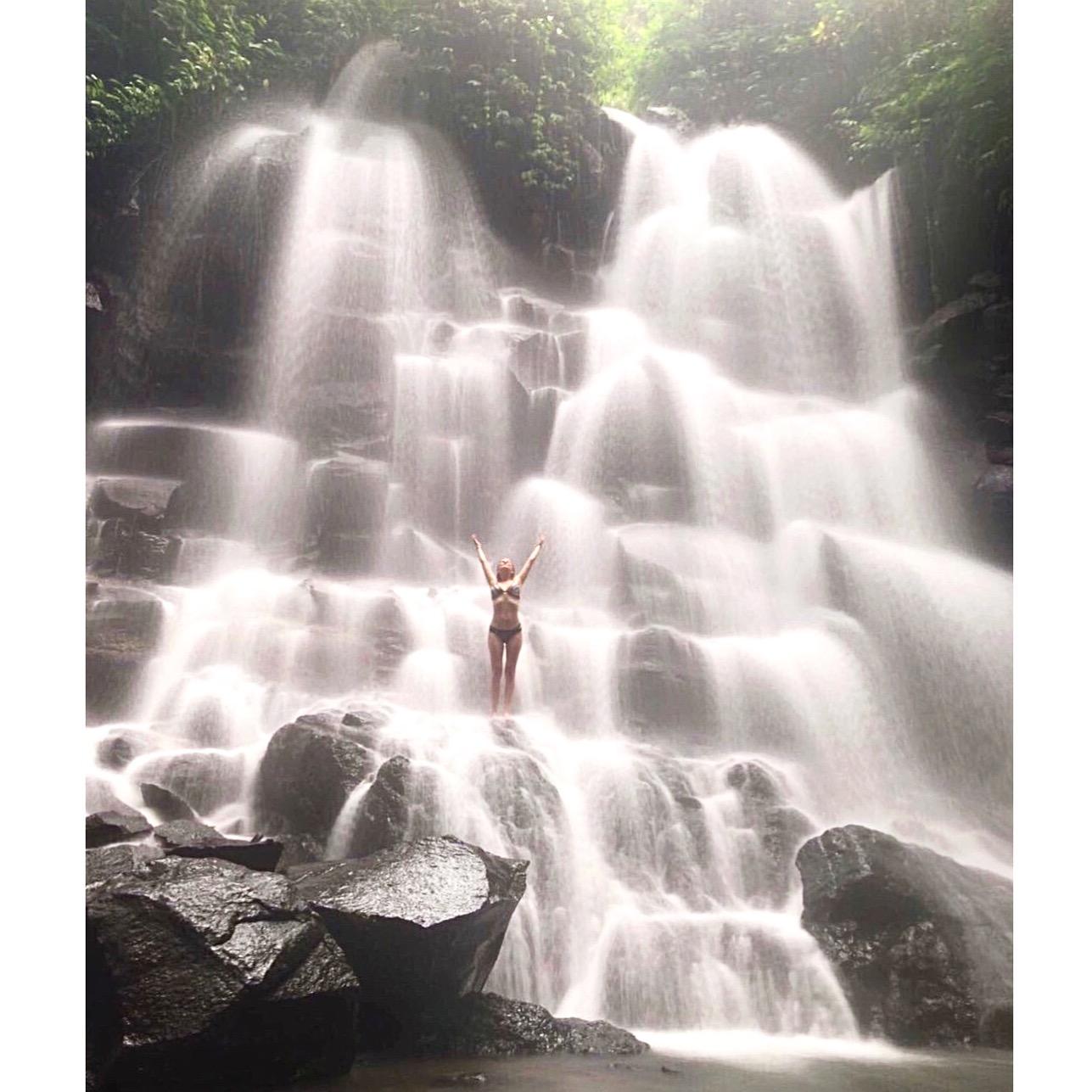 best waterfall bali