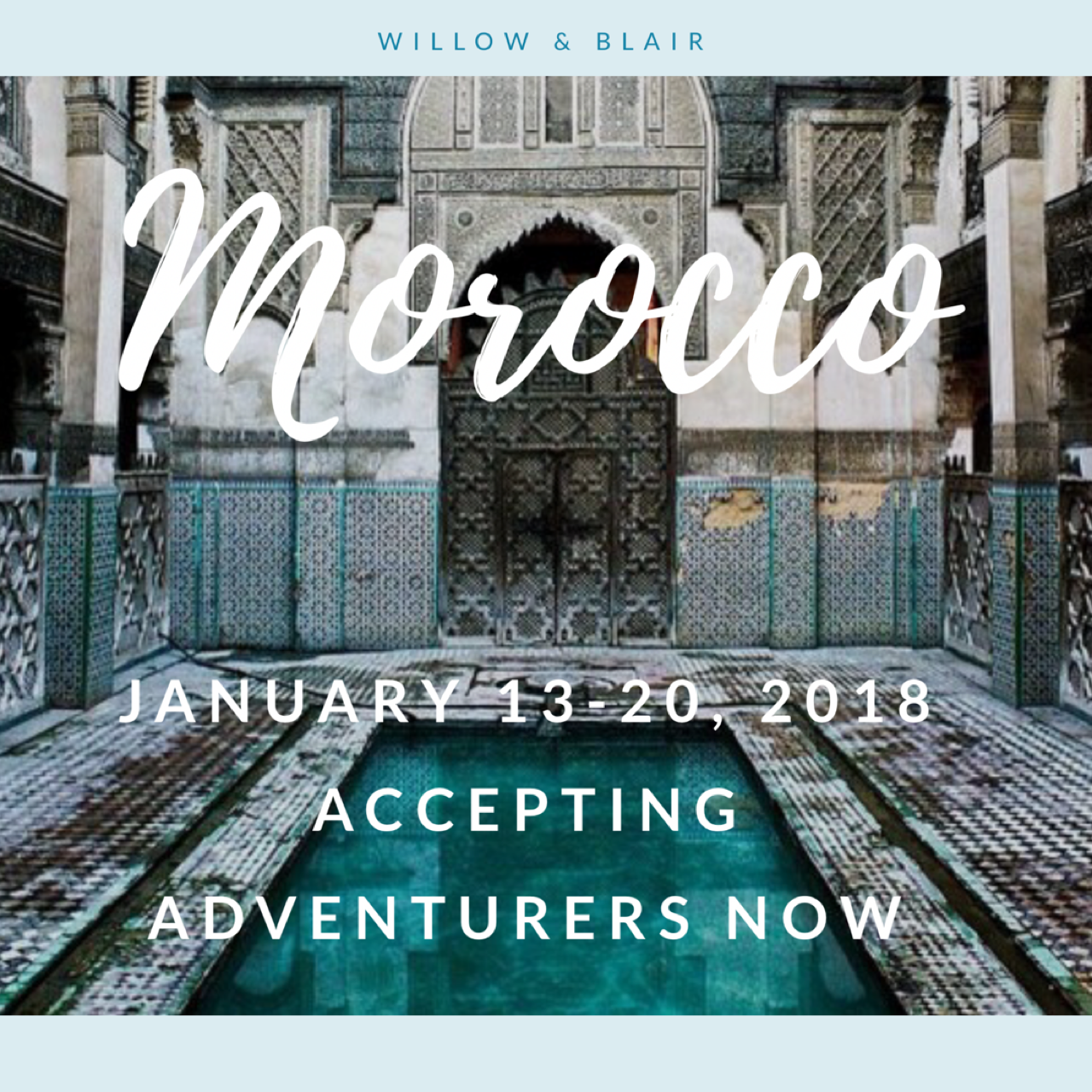 willow and blair tours