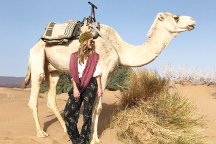 chelsea gilson, willow and blair, marrakech and the sahara