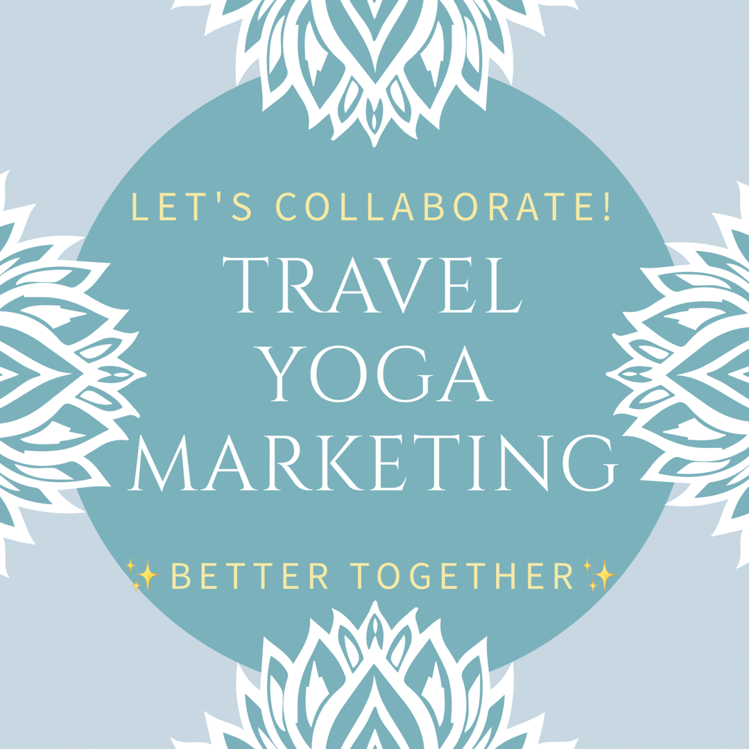 yoga travel marketing Chelsea gilson influencer