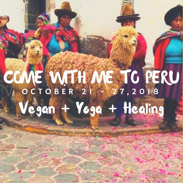 Spots Open: Vegan Yoga Adventure in Peru!