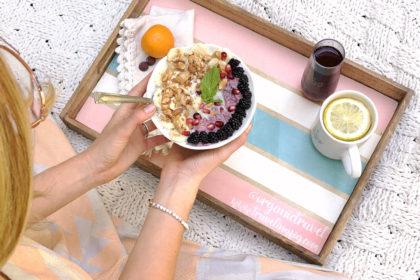 My Custom Food Blogger Tray!