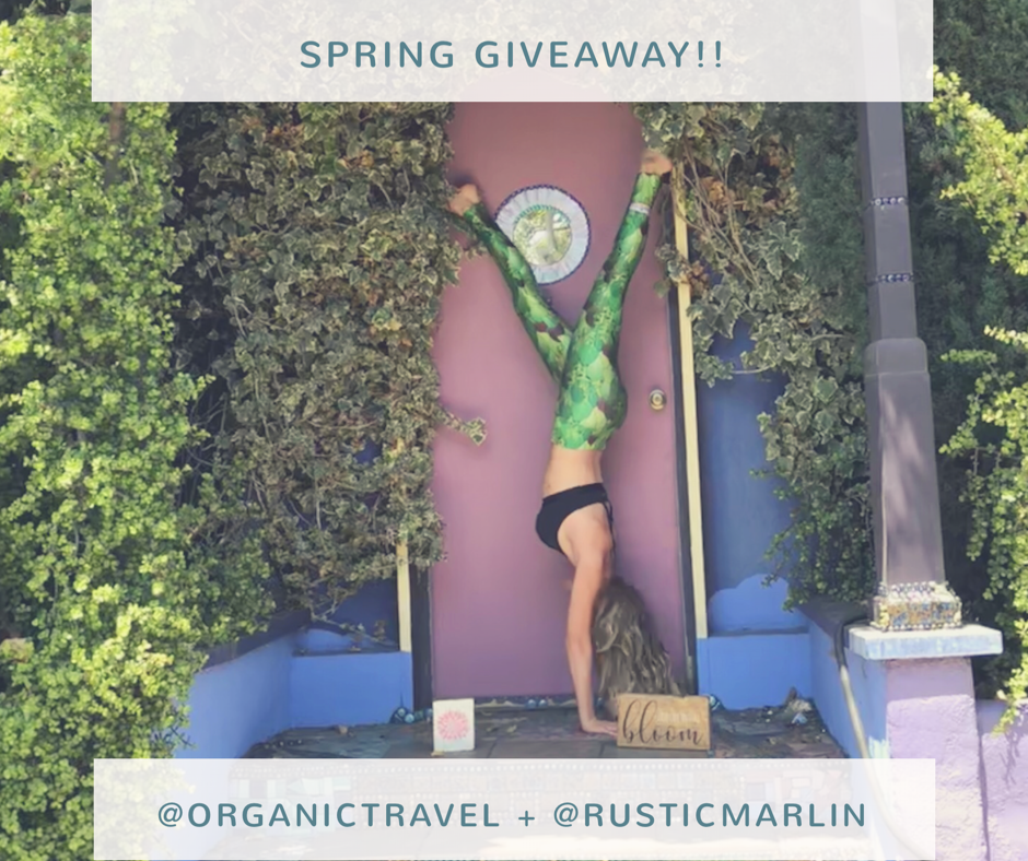 Spring Giveaway with Rustic Marlin!