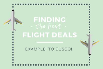 deals to cusco flights