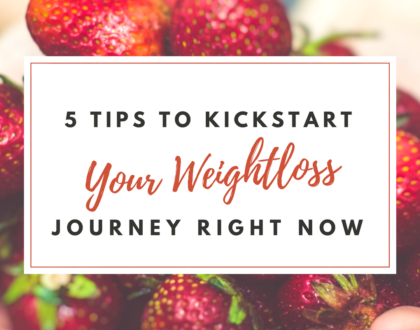 5 Tips for Kickstarting Your Weight Loss Diet
