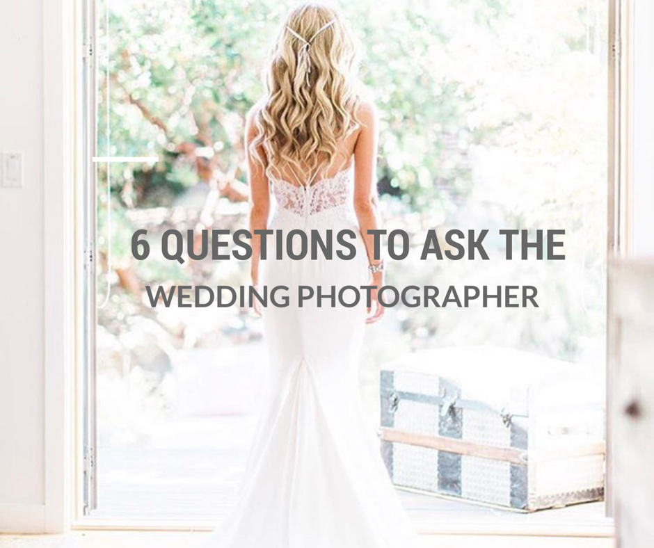 picking your wedding photographer