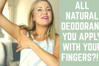 A Natural Deodorant You Apply With Your Fingers?!