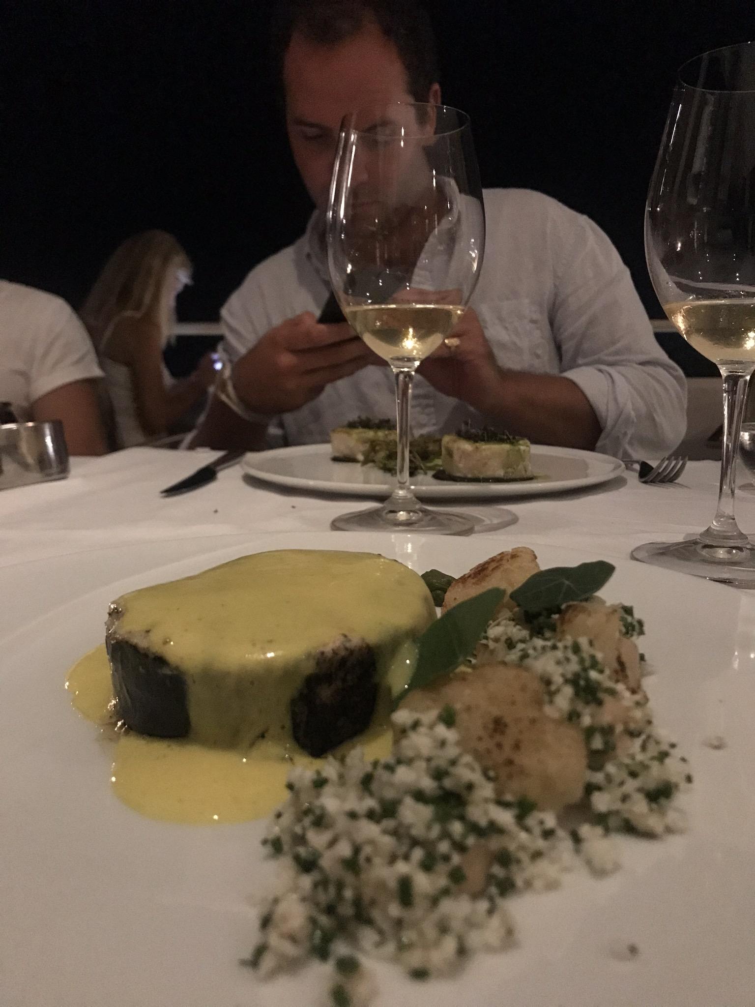 most romantic restaurant Santorini