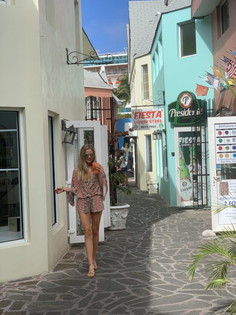 Exploring downtown Nassau