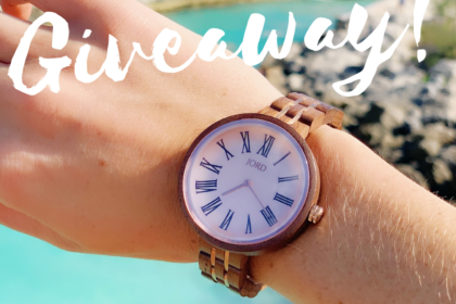 wooden watch giveaway