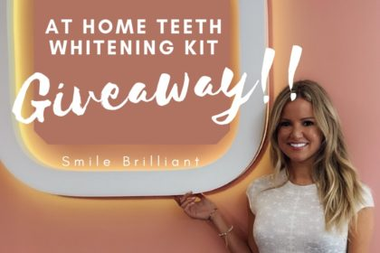 at home teeth whitening kit review and giveaway