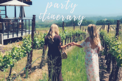 Best Bachelorette Itinerary for California Wine Country!