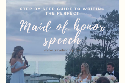 Maid of Honor Speech Tips & a Sample