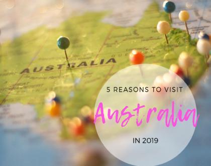 reasons ot visit australia