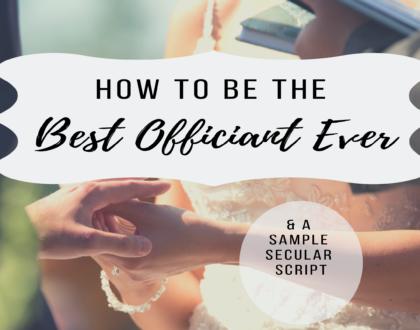 Officiant Guide: Non-Religious Ceremony Script