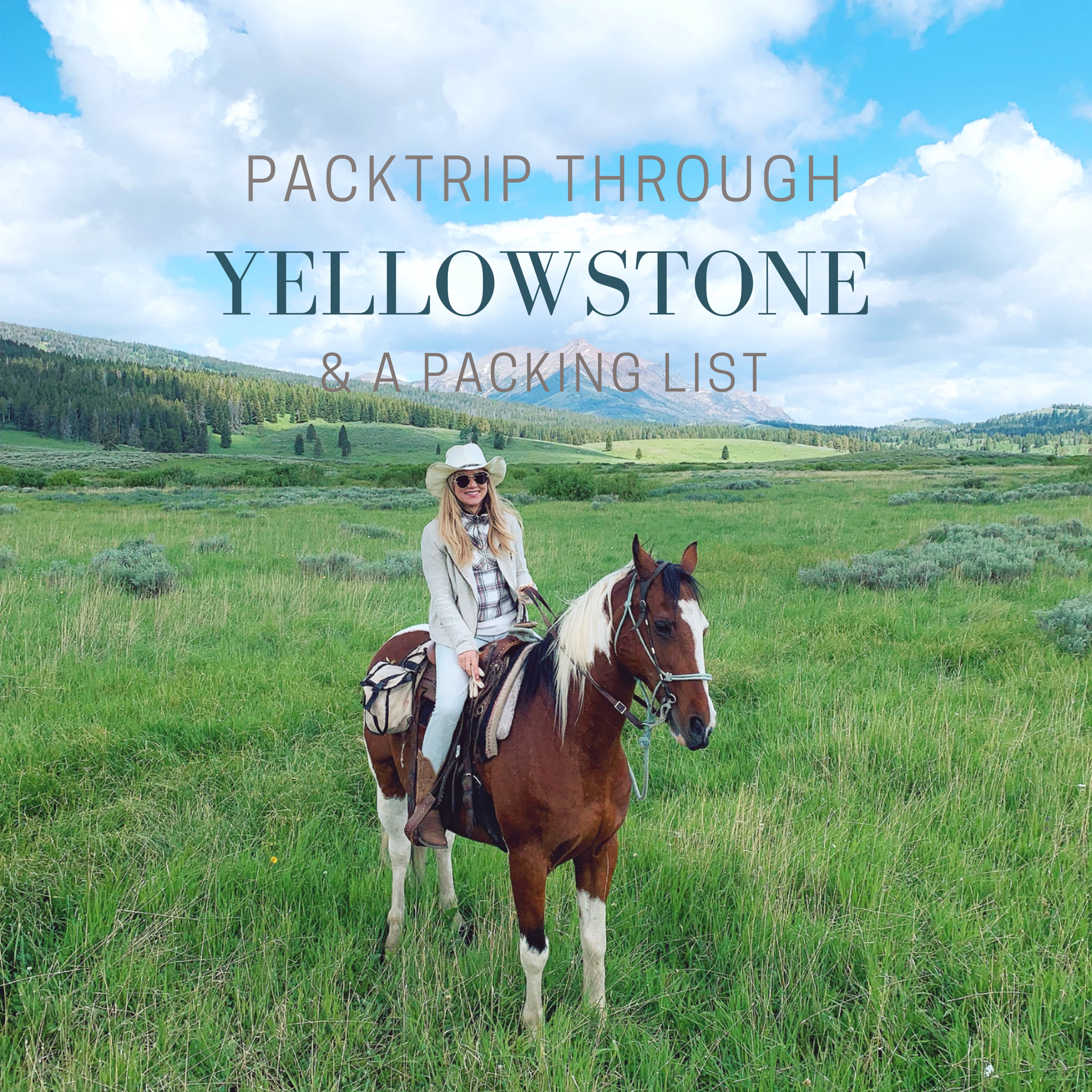 Horseback & Camp through Yellowstone's Back Country