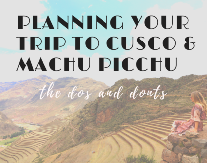 cusco planning tips