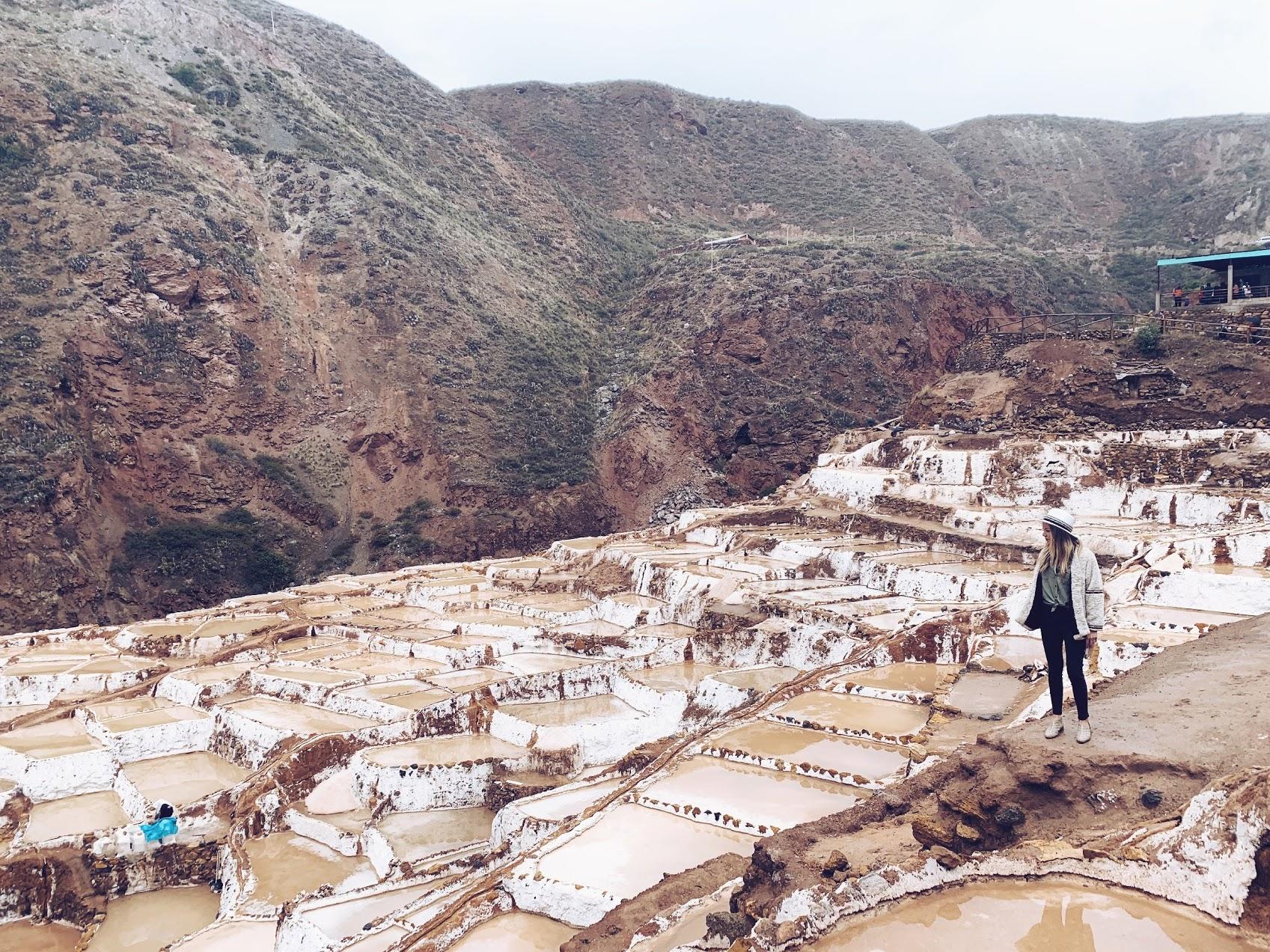 tour of the salt pools peru