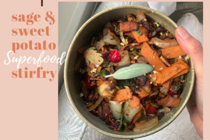 heart healthy gluten free vegan stir fry for thanksgiving