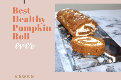Best Vegan GF Pumpkin Roll!