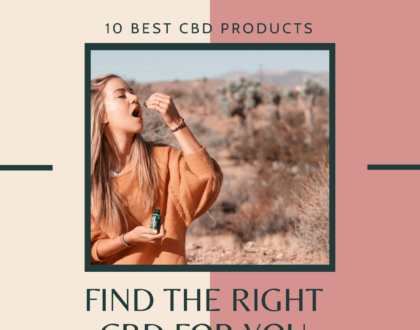 Find the Best CBD Product for You