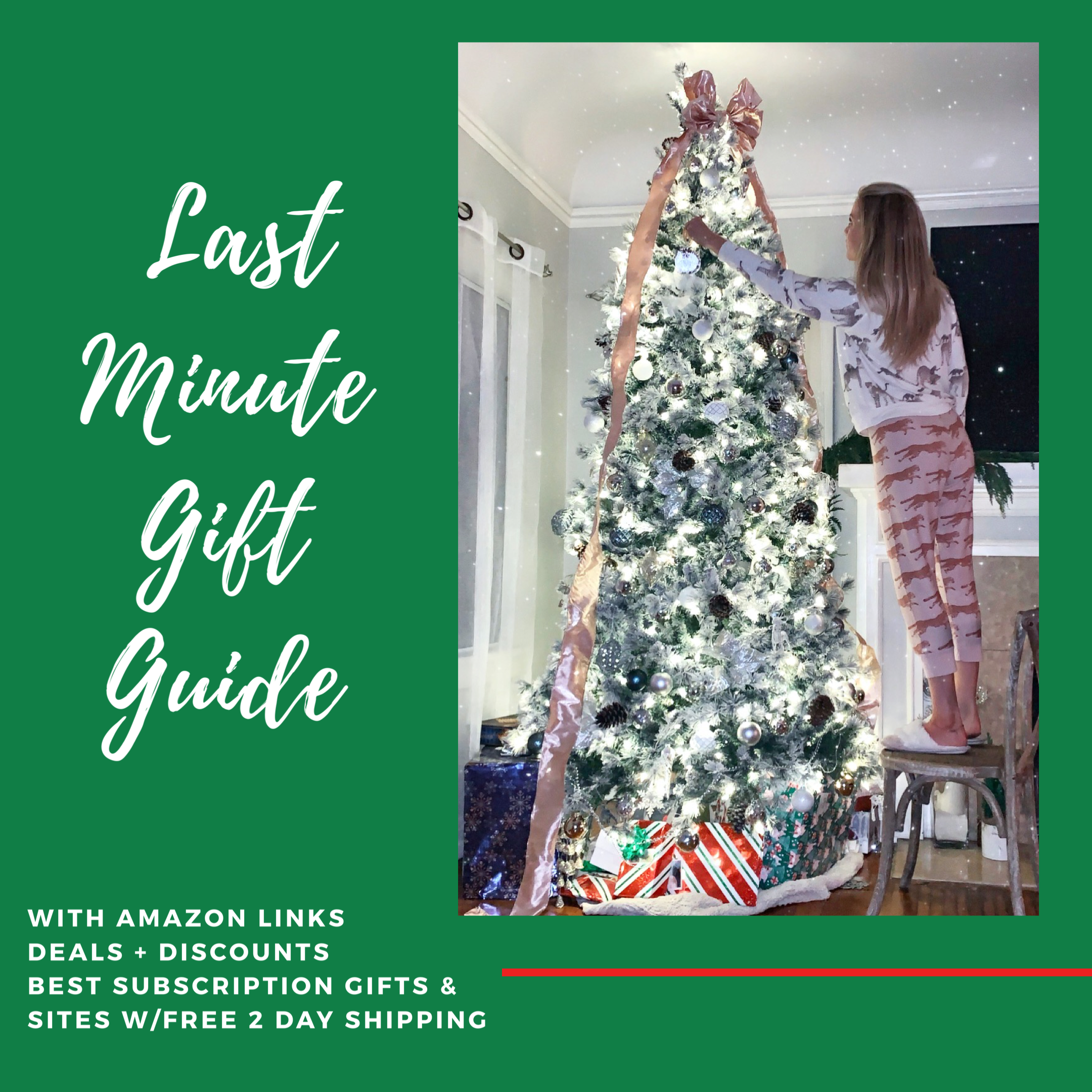 Last Minute Gift Guide {w/Amazon links + deals!}