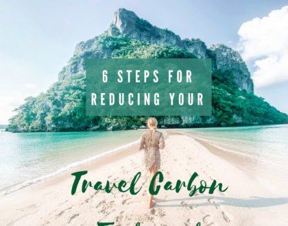 6 Tips to Reduce your Travel Carbon Footprint